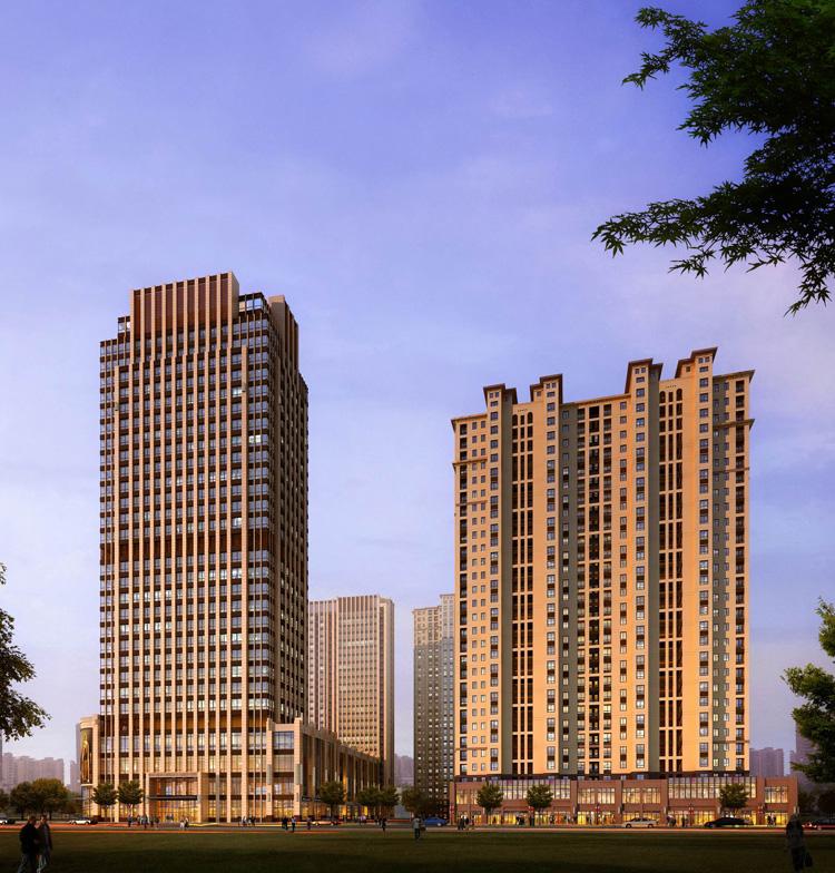 步步高广场-公建类-常州市武进建筑设计院
